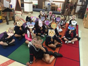 Studying animals and celebrating St. Francis of Assisi.