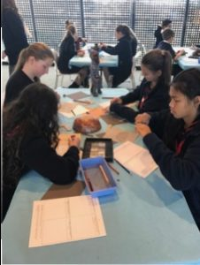 7th grade working in the studios at the deYoung