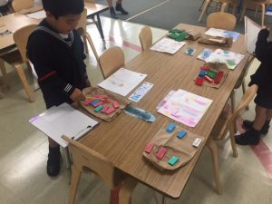 "Our ""number museum"" to create number bonds to 10."